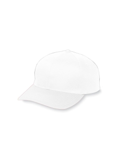 6-Panel Cotton Twill Low Profile Cap-Augusta Sportswear