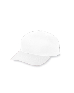 Youth 6-Panel Cotton Twill Low Profile Cap-Augusta Sportswear