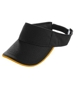 Adult Athletic Mesh Two-Color Visor-Augusta Sportswear