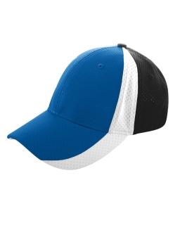 Sport Flex 3-Color Athletic Mesh Cap-Augusta Sportswear