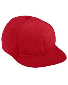 Adult Athletic Mesh Flat Bill Cap-