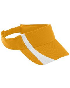 Adult Adjustable Wicking Mesh Two-Color Visor-