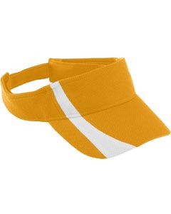 Youth Adjustable Wicking Mesh Two-Color Visor-