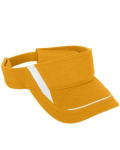 Adult Adjustable Wicking Mesh Edge Visor-Augusta Sportswear
