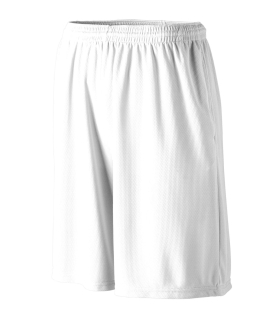 Longer Length Wicking Short With Pockets-