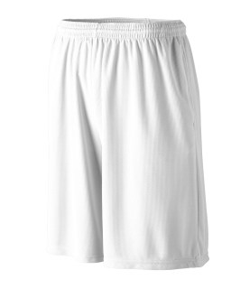Youth Longer Length Wicking Short With Pockets-