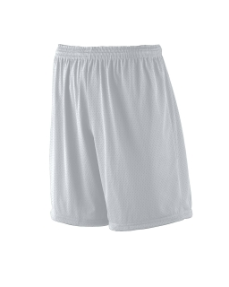 "Adult Tricot Mesh/Tricot-Lined 7"" Short-"