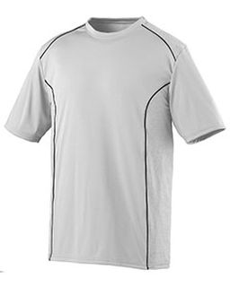 Adult Wicking Polyester Short-Sleeve T-Shirt-Augusta Sportswear
