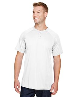 Adult Attain 2-Button Baseball Jersey-Augusta Sportswear