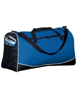 Large Tri-Color Sport Bag-Augusta Sportswear