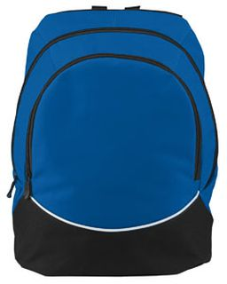 Large Tri-Color Backpack-Augusta Sportswear