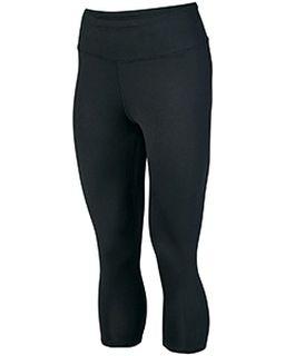 Ladies Hyperform Compression Capri Pant-Augusta Sportswear