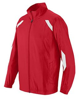 Youth Water Resistant Micro Polyester Jacket-Augusta Sportswear