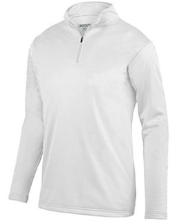 Adult Wicking Fleece Quarter-Zip Pullover-Augusta Sportswear