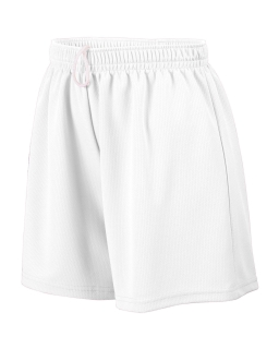 Ladies Wicking Mesh Short-Augusta Sportswear