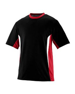 Ply/Wicking Clrblk Surge Jersey-