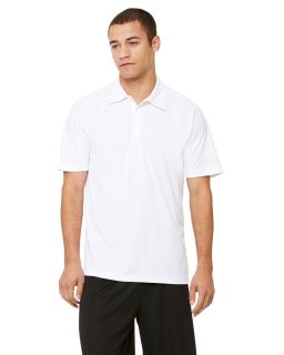 Unisex Performance Three-Button Raglan Polo-