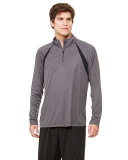 Unisex Quarter-Zip Lightweight Pullover With Insets