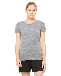 Ladies Performance Triblend Short-Sleeve T-Shirt-