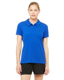 Ladies Performance Three-Button Mesh Polo-All Sport