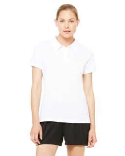 Ladies Performance Three-Button Polo-All Sport
