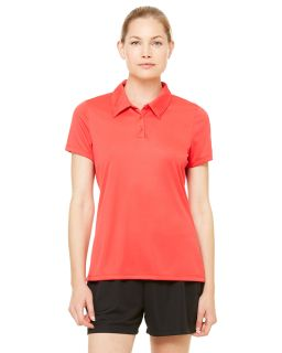 Ladies Performance Three-Button Polo-