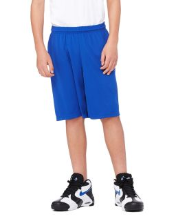 "For Team 365 Youth Mesh 9"" Short-All Sport"