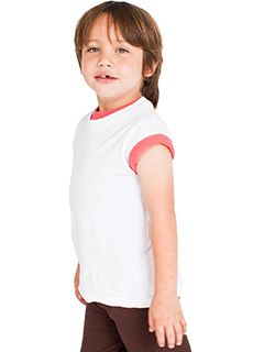 Toddler Organic Fine Jersey Short-Sleeve T-Shirt-