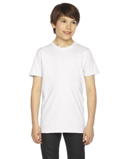 Youth Fine Jersey Usa Made Short-Sleeve T-Shirt-