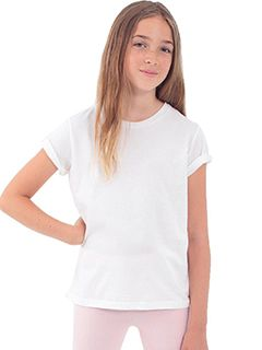 Youth Organic Fine Jersey Short-Sleeve T-Shirt-