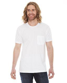 Unisex Fine Jersey Pocket Short-Sleeve T-Shirt-