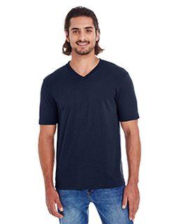 Unisex Fine Jersey Short-Sleeve Classic V-Neck-
