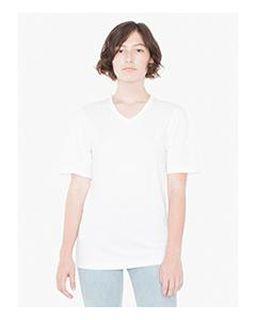 Unisex Organic Fine Jersey Short-Sleeve Classic V-Neck-