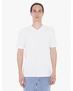Unisex Fine Jersey Short Sleeve Classic V-Neck-