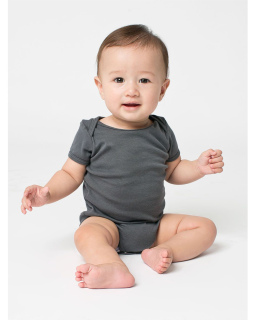 Infant Baby Rib Short-Sleeve One-Piece-American Apparel