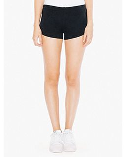 Ladies Interlock Running Shorts-American Apparel