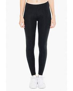 Ladies Cotton Spandex Jersey Leggings-American Apparel