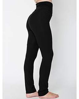 Ladies Cotton/Spandex Yoga Pant-American Apparel