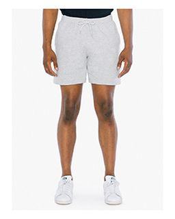 Unisex California Fleece Gym Short-American Apparel