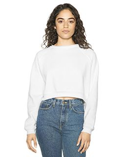 Ladies Flex Fleece Raglan Cropped Sweatshirt-