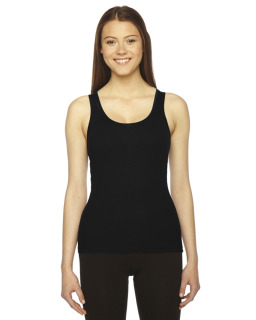 Ladies Rib Tank-American Apparel