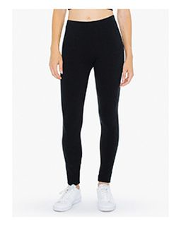 Ladies Cotton Spandex Winter Leggings-American Apparel