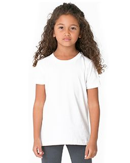 Toddler Poly-Cotton Short-Sleeve Crewneck-American Apparel