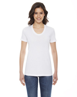Ladies Poly-Cotton Short-Sleeve Crewneck