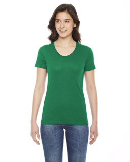 Ladies Poly-Cotton Short-Sleeve Crewneck-