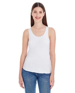Ladies Poly-Cotton Racerback Tank-