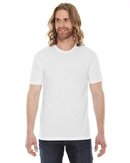 Unisex Poly-Cotton Short-Sleeve Crewneck-