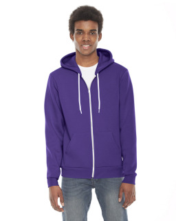 Unisex Flex Fleece Usa Made Zip Hoodie-
