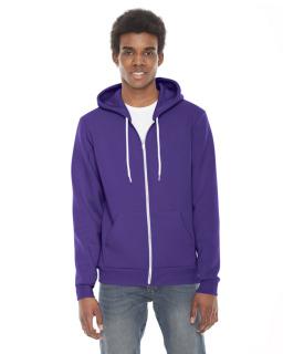 Unisex Flex Fleece Usa Made Zip Hoodie-