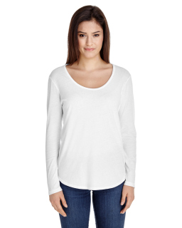 Ladies Long-Sleeve Ultra Wash T-Shirt-